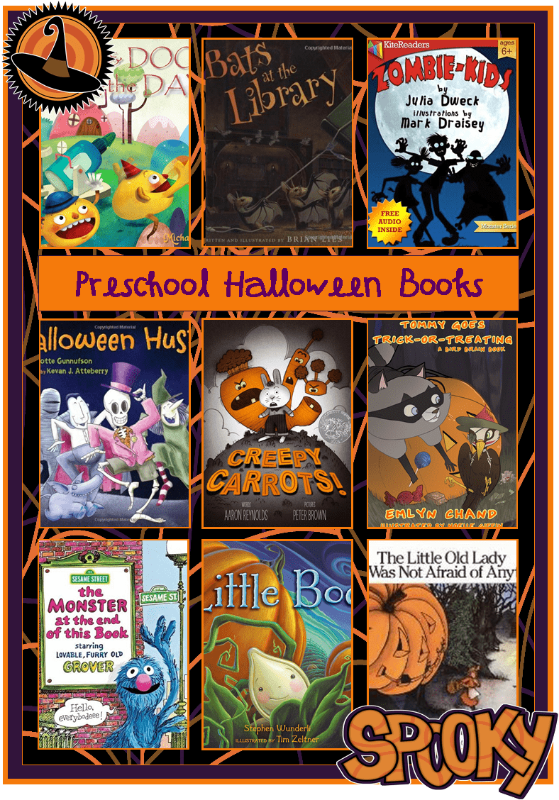 Preschool Halloween Books for Kids