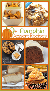 Over 9 Pumpkin Dessert Recipes