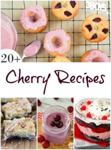 Recipes Using Cherries - 3 Boys and a Dog