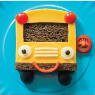 Fun School Bus Sandwich Recipe