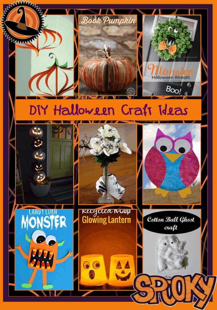 Pinterest Crafts:  Halloween