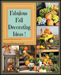 Fabulous Fall Decorating Ideas - 3boysandadog.com