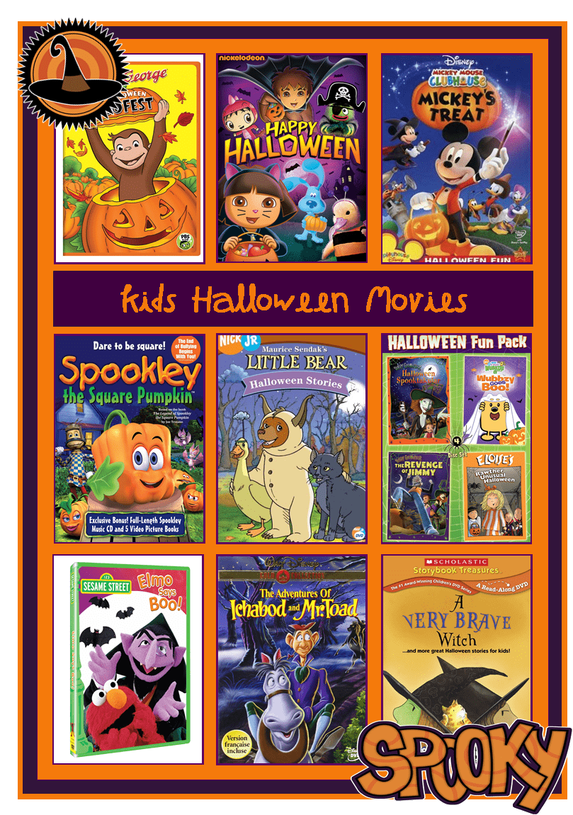 over 9 Kids Halloween Movies