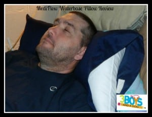 MediFlow Waterbase Pillow Review #healthysleep #improvesleep