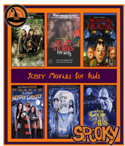 Scary Movies for Kids {Halloween Fun!}