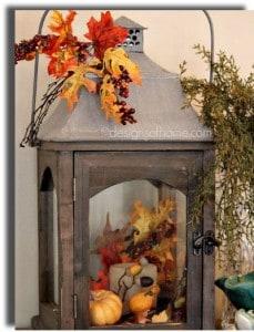 Fall Decorating Ideas -Lantern - 3boysandadog.com
