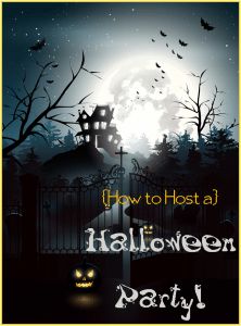 How to Host a Halloween Party!