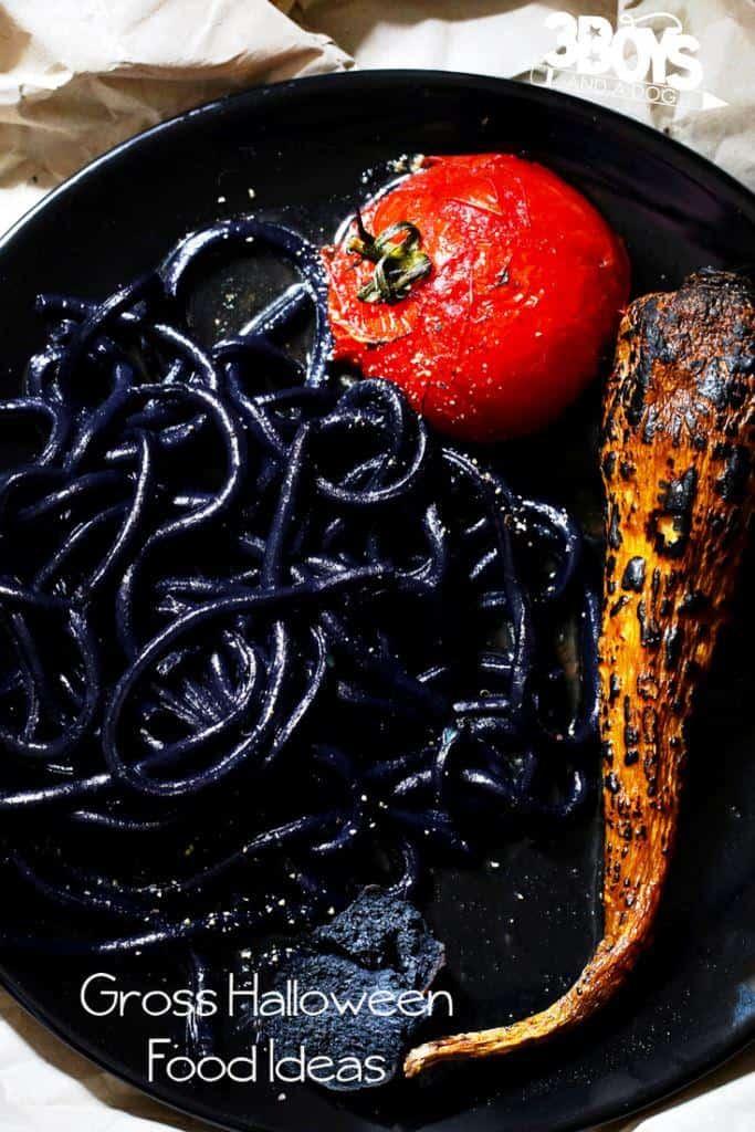 nasty looking foods for Halloween