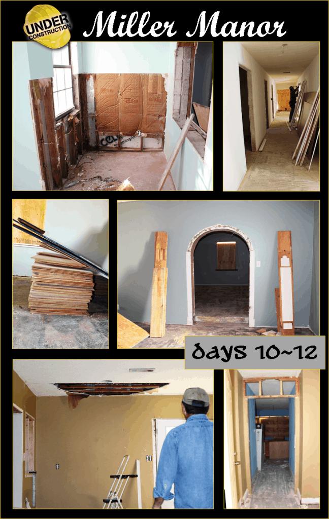Miller Manor Days 10 through 12