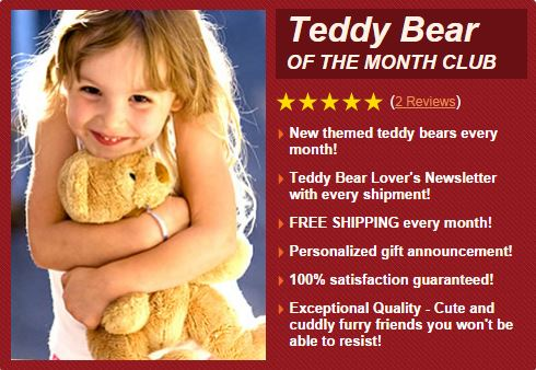 Teddy Bear of the Month CLub