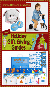 Gifts for Toddler Boys {Holiday Gift Guide}