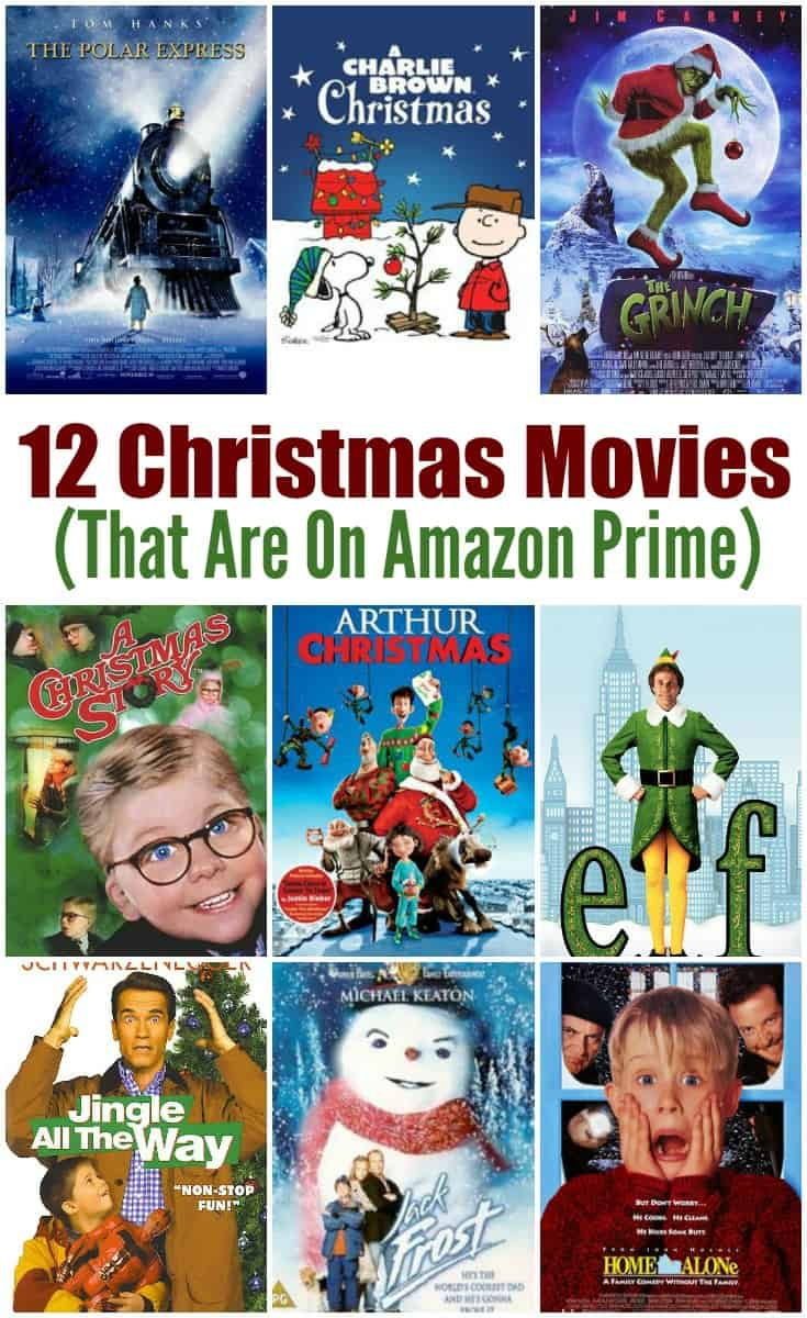 12 Must See Christmas Movies and they are all on Amazon Prime so you can binge watch them today!