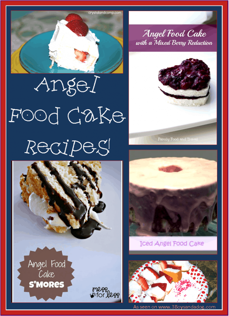 Angel Food Cake Recipes