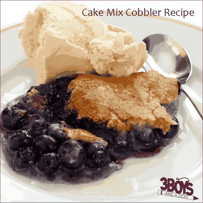 Blueberry Cobbler Recipe With Yellow Cake Mix