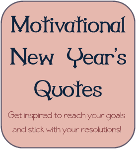 Motivational Quotes for New Years