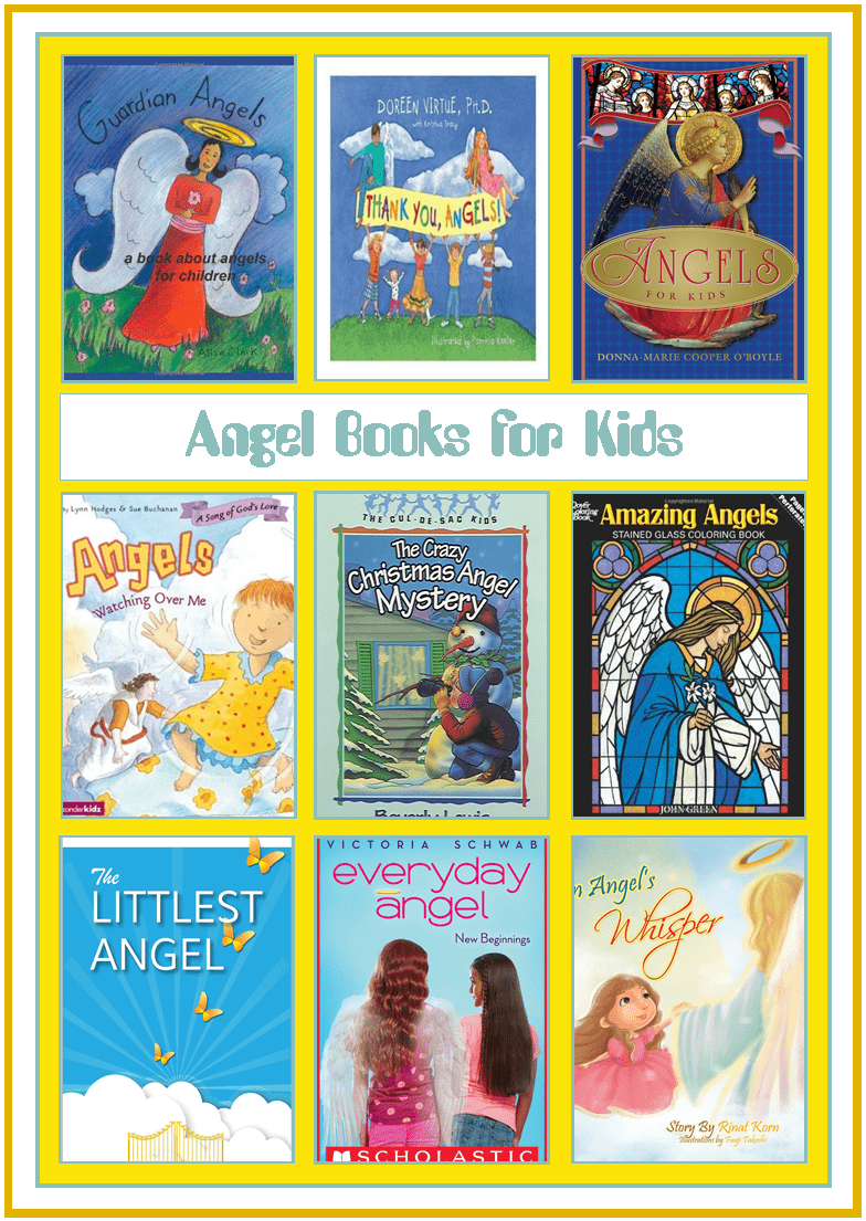 Angels books for kids