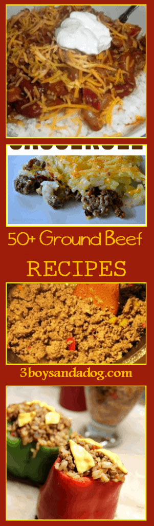 50 plus ground beef recipes