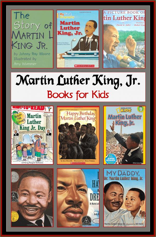 MLK books for kids