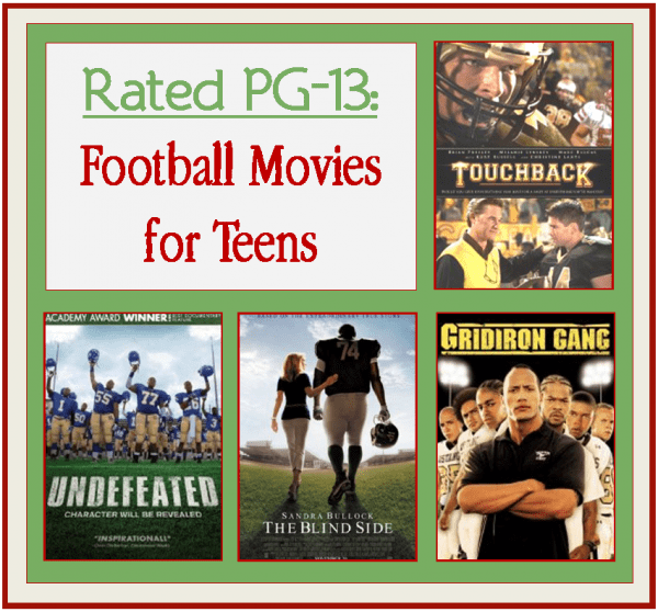 Football Movies for Teen PG_13