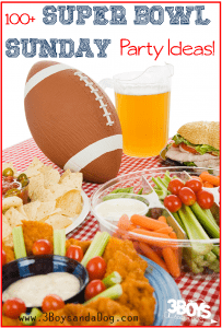 Over 100 Super Bowl Sunday Party Ideas: Recipes, Invitations, and Decorations!