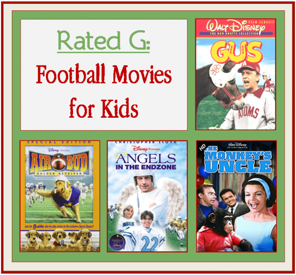 General Audience Rated Football Movies
