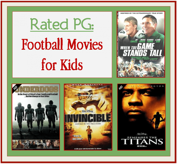 Rated PG Football Movies