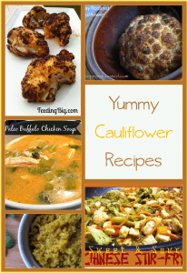 Recipes Using Cauliflower