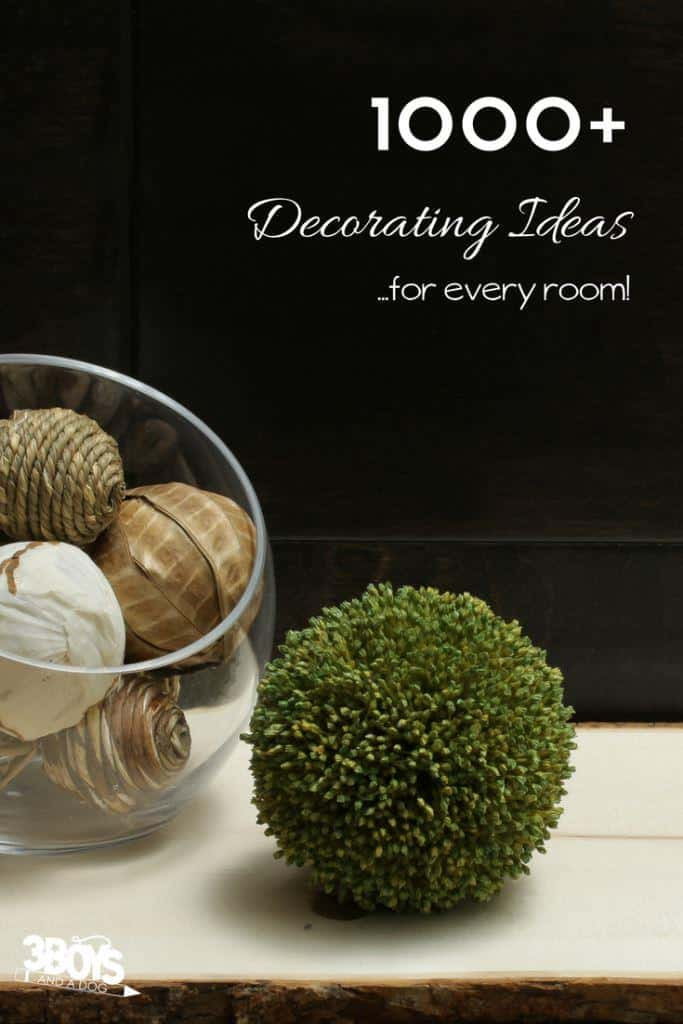 all the decor ideas you will need for every room and area in your home