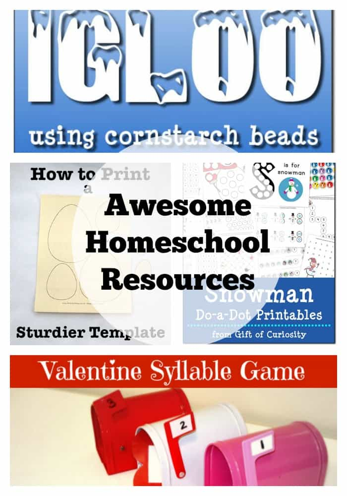 awesome homeschool resources 1202015