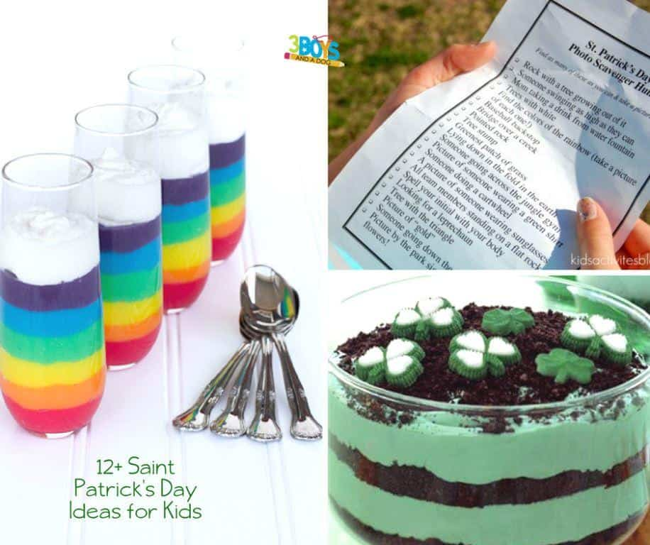 St. Patrick's Day Recipes for Kids