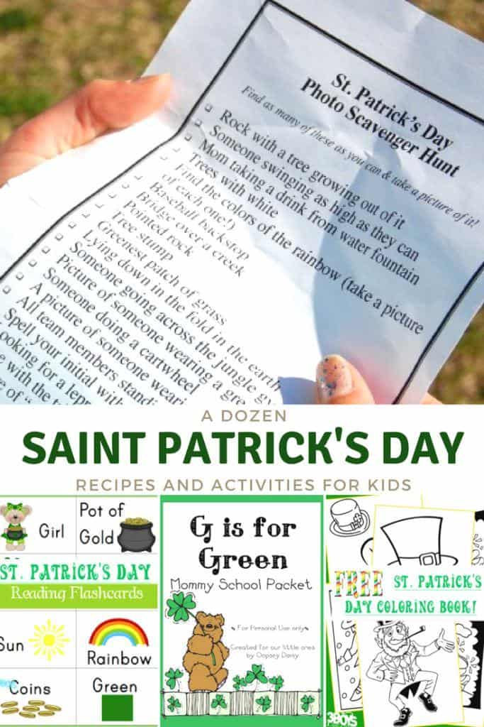 Over 12 St Patricks Day Activities for Kids