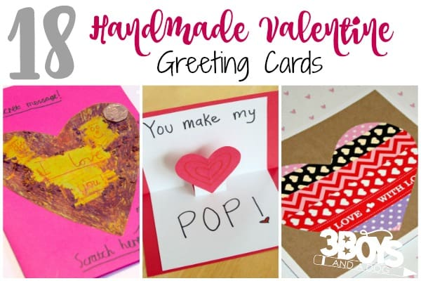 18 Handmade Valentine Greeting Cards