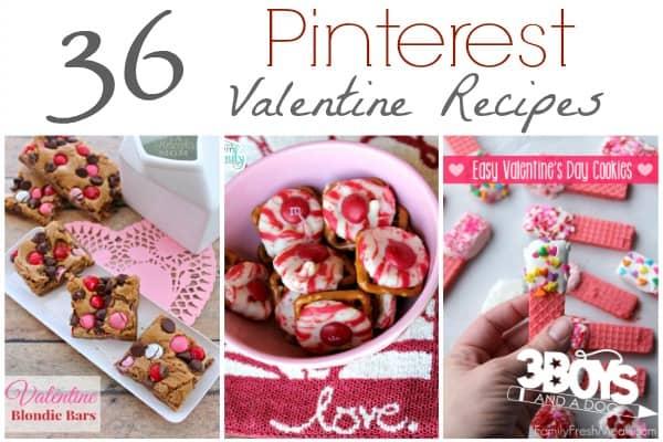 36 Pinterest Valentine Recipes