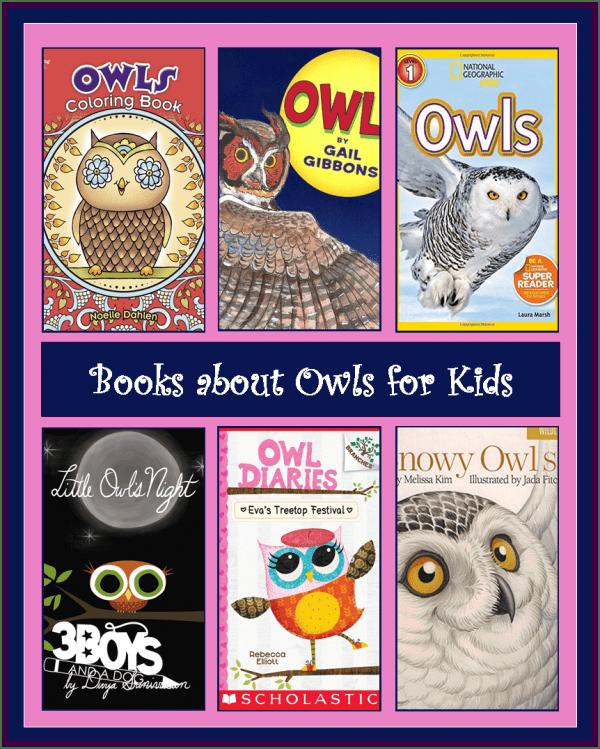 Owl Books for Children