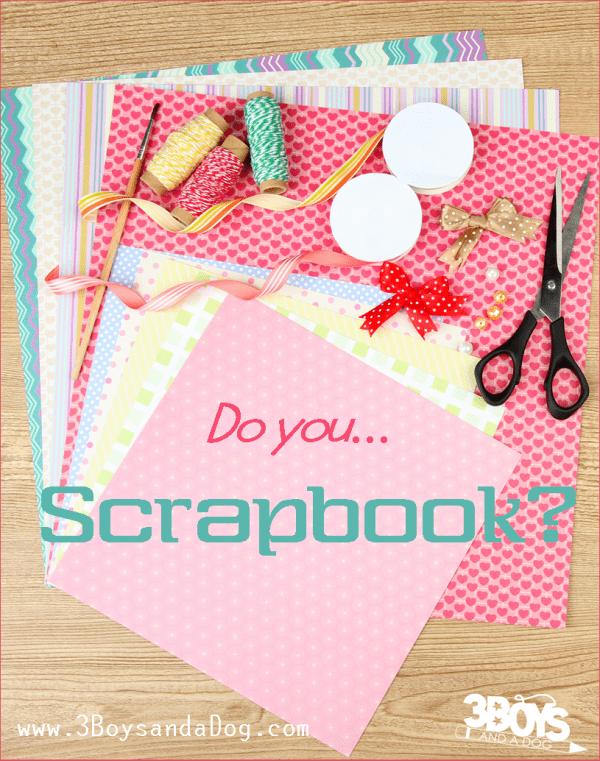 buy scrapbooking supplies