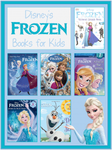 books about Disney's Frozen for children