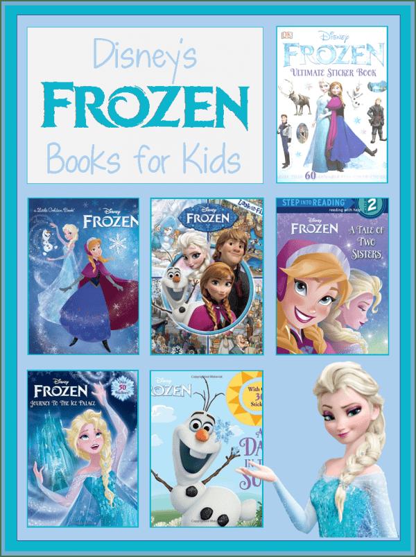 books about Disney's Frozen for children