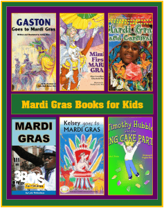 Mardi Gras Books for Kids