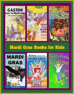 Children's Books about Mardi Gras