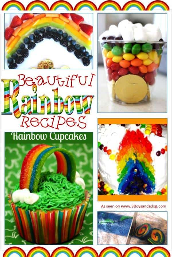 Delicious Rainbow Recipes for Kids