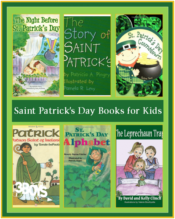 teach your children about Saint Patrick's Day