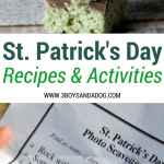 Saint Patrick's Day Recipes and Activities for Children