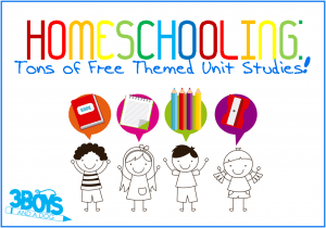 Homeschooling Freebies:  Themed Unit Studies