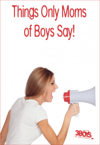 Boy Mom Sayings