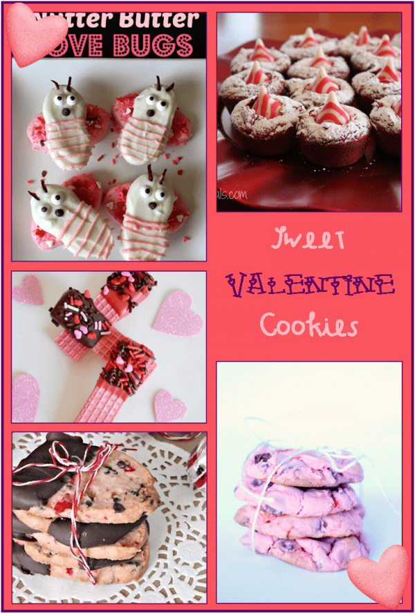 over 17 sweet cookies for Valentine's Day