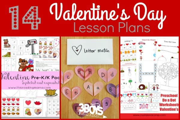 Valentines Day Lesson Plans