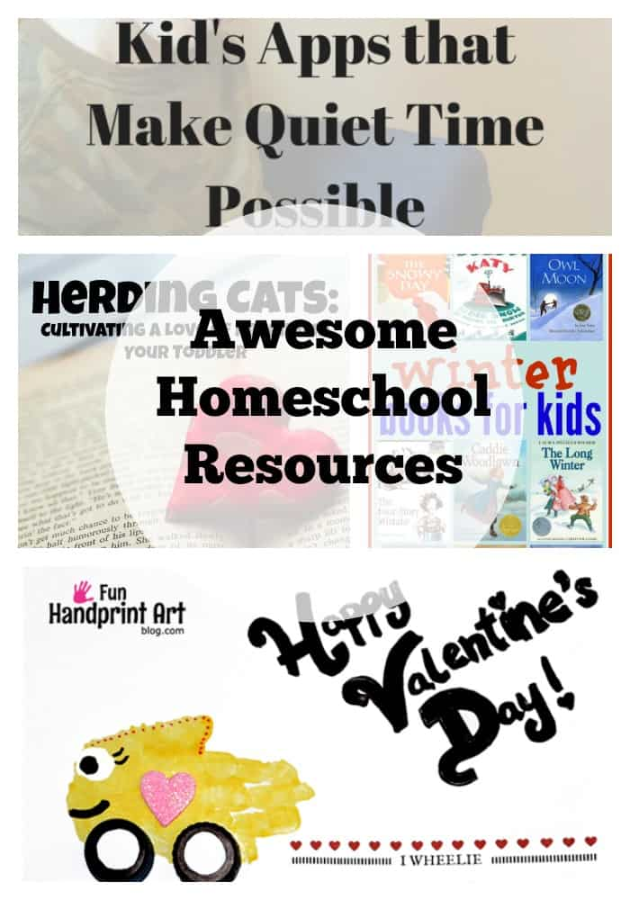 homeschool resources 2172015