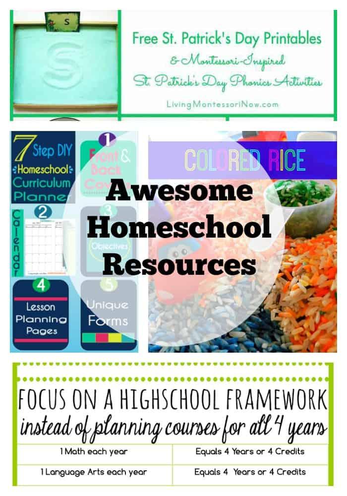 homeschool resources  2242015
