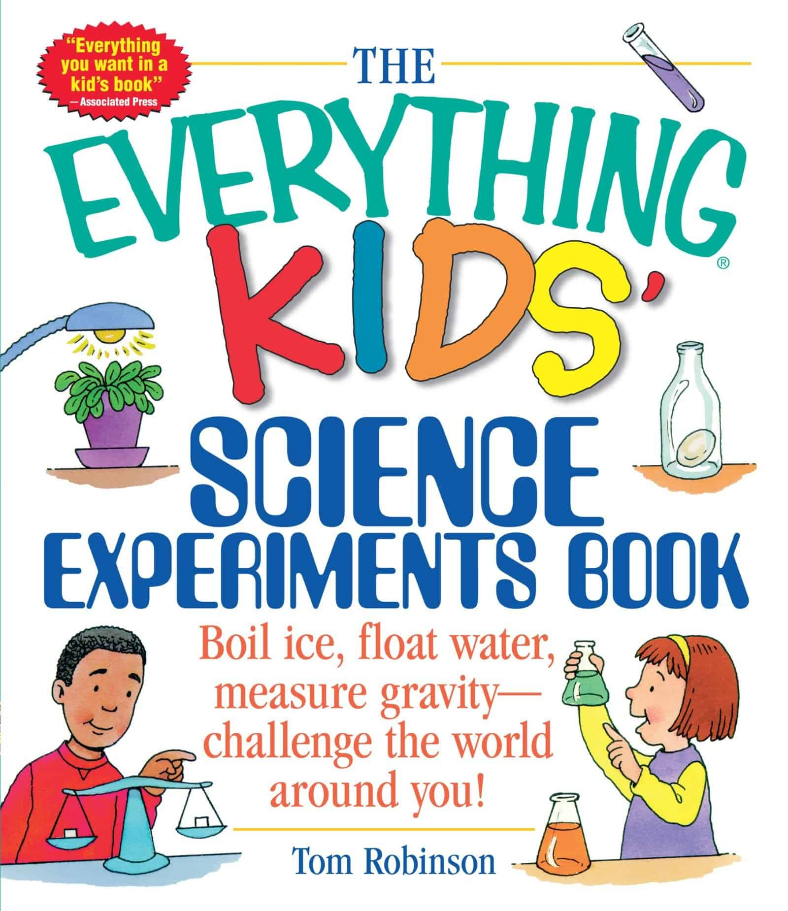 The Everything Kids Science Experiments Book 599 3 Boys And A