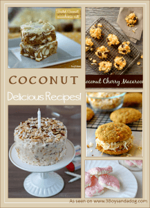 Over 40 Coconut Recipes